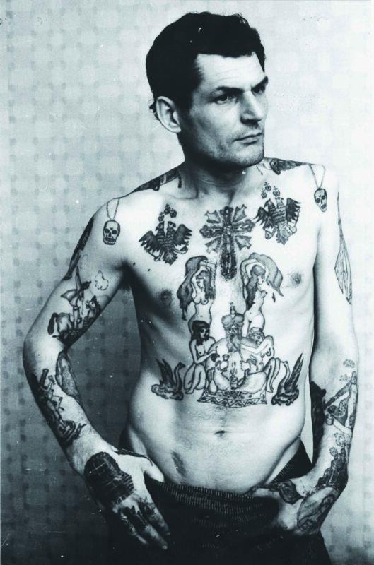 La sua storia è nei tatuaggi, 1980 ca.