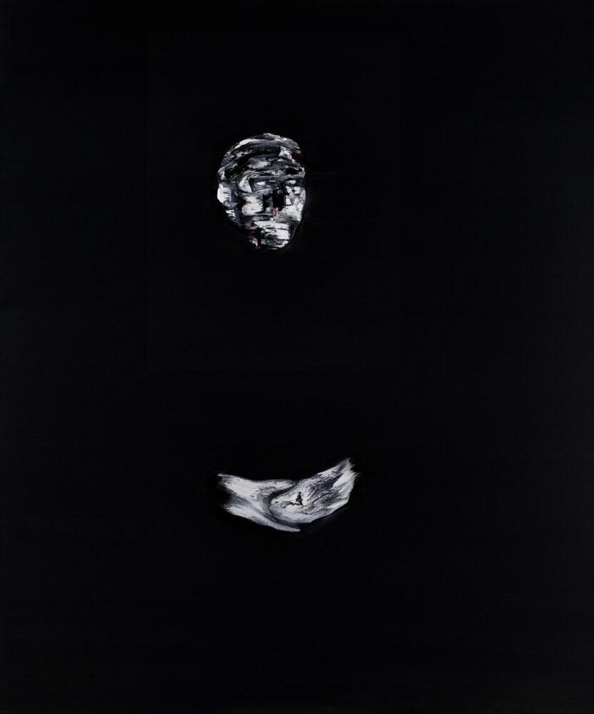 Lorenzo Puglisi, Ritratto 270418 (Autoritratto), 2018, oil on canvas, 120x100cm.