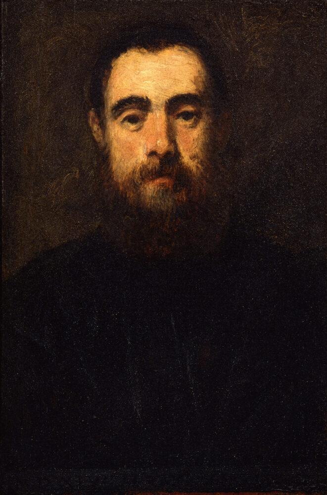 Tintoretto, ritratto d'uomo
