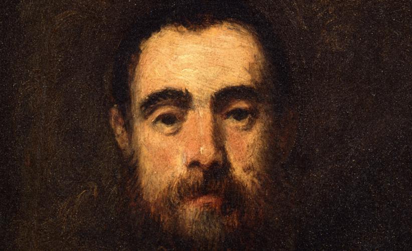 Tintoretto, ritratto d'uomo (particolare)