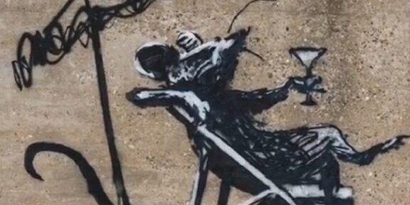 Banksy instagram spraycation