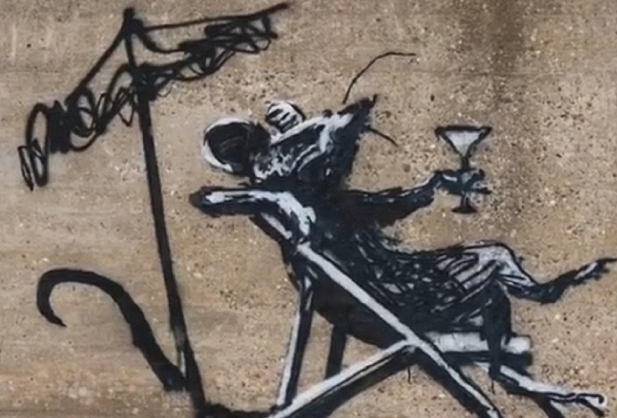 "Gipsy Banksy! Su instagram il video della ""spraycation"" sulla costa inglese"
