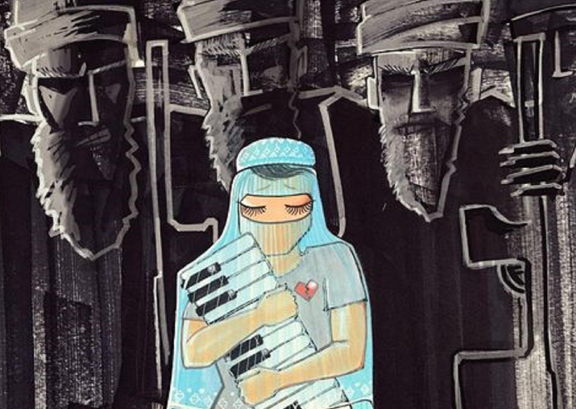 L'arte che resiste. La street artist di Kabul che dà voce alla solitudine delle donne afghane