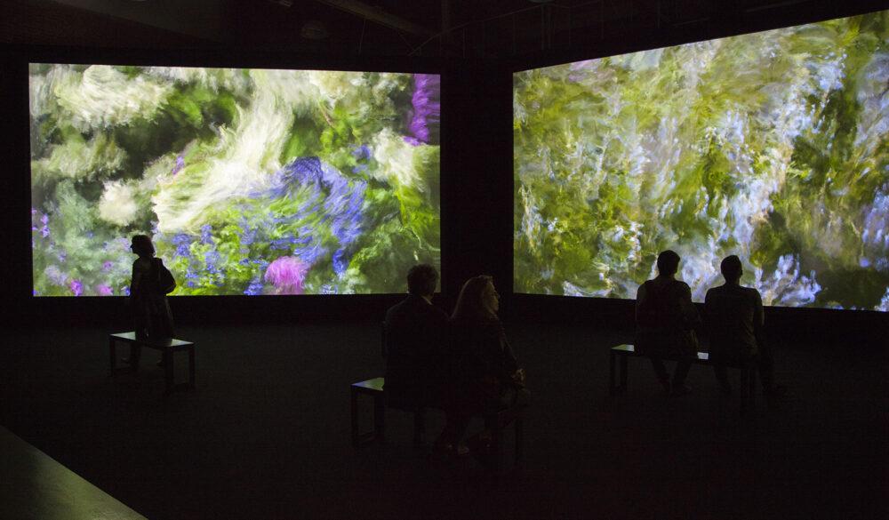 Quayola Jardins d'Été , 2017 Serie di video 4K / Suite of 4K Video