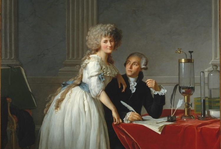 Un ritratto di Jacques Louis David restaurato ha rivelato un inedito Lavoisier