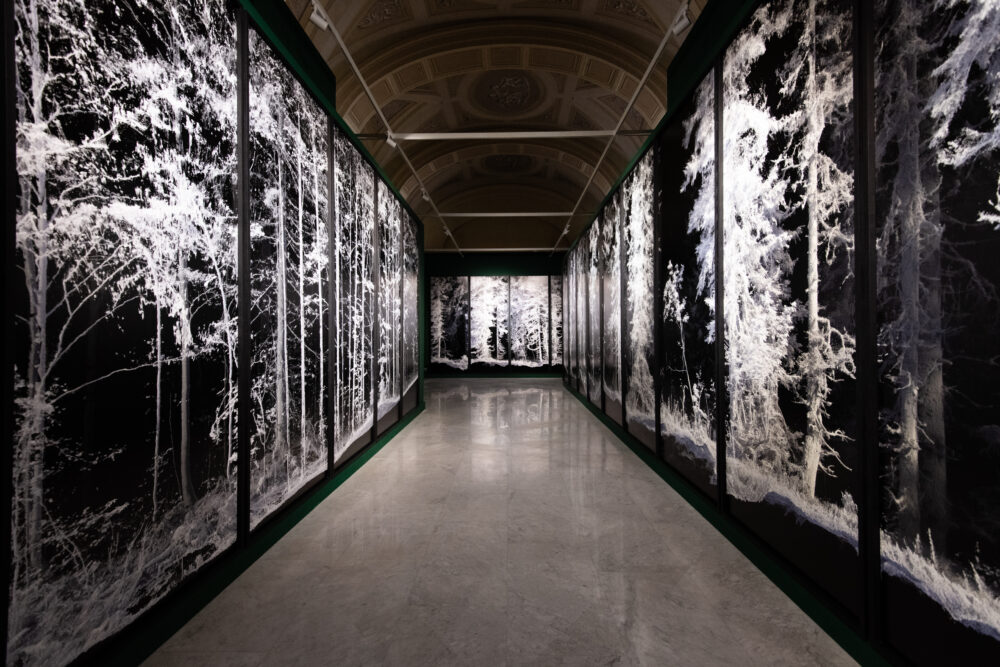 Quayola Remains: Vallée de Joux , 2018 Serie di di stampe a getto d'inchiostro / Series of inkjet prints