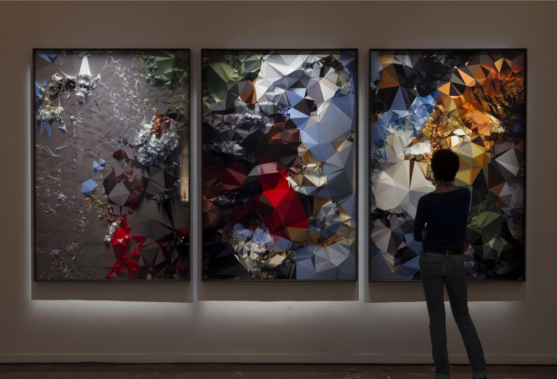 La natura e l'arte classica nell'era della tecnologia. Quayola in mostra a Roma