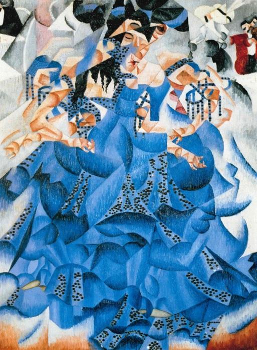 Gino Severini, Ballerina blu