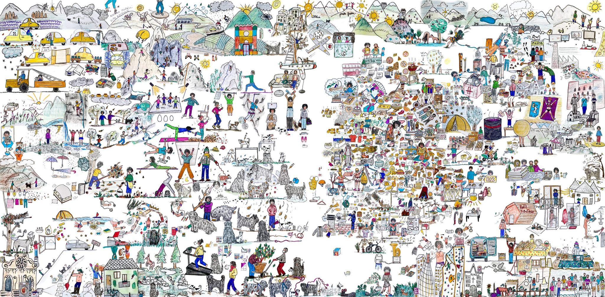 Un collage di storie e sensazioni: Federica Peyrolo per Flashback Opera Viva alla Barriera di Milano