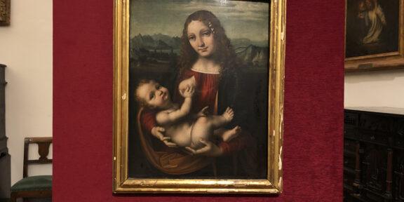 Ritrovata la splendida Madonna con Bambino di Marco d'Oggiono