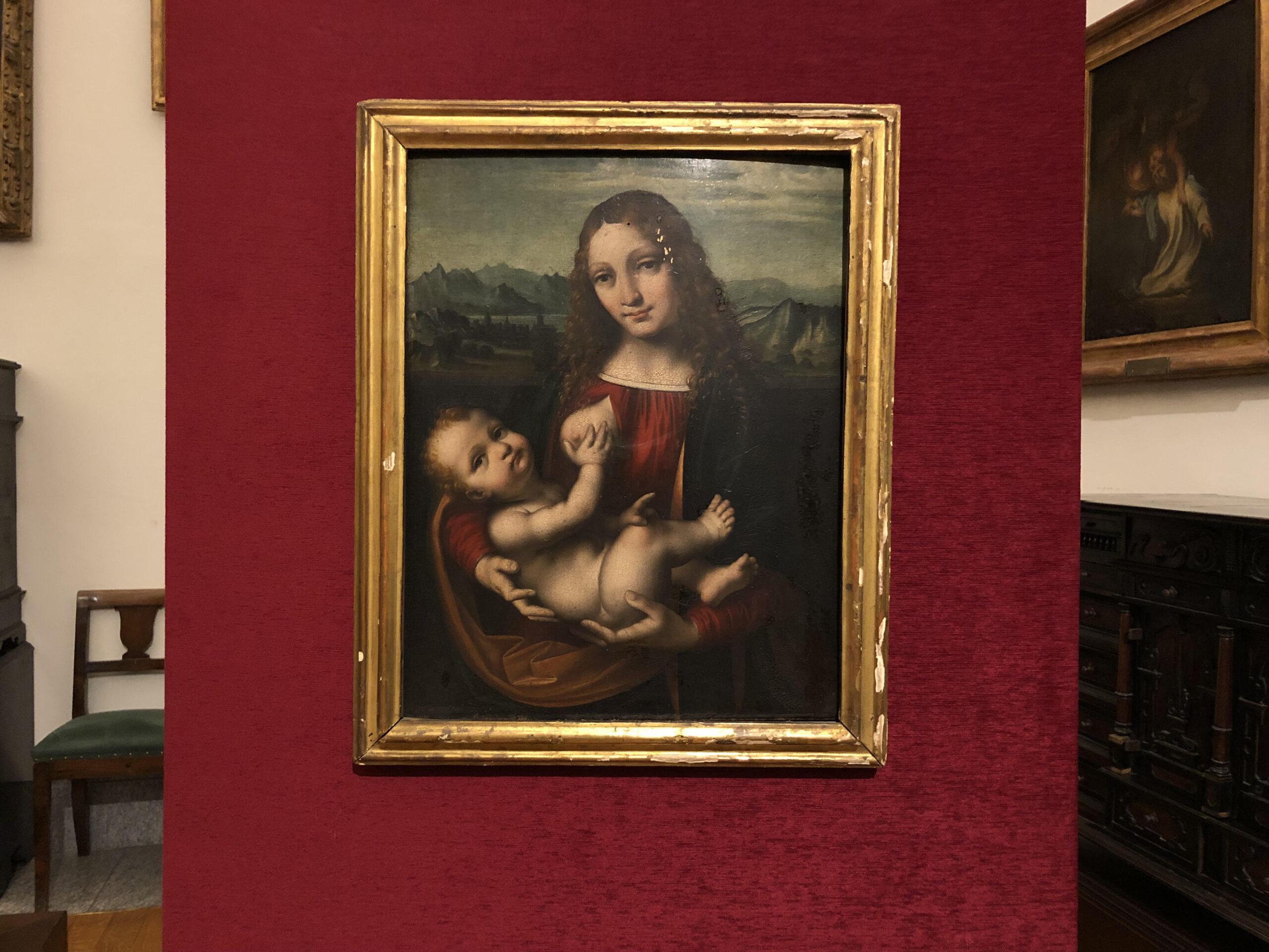 Ritrovata la splendida Madonna con Bambino di Marco d'Oggiono: un grande ritorno all'Ambrosiana