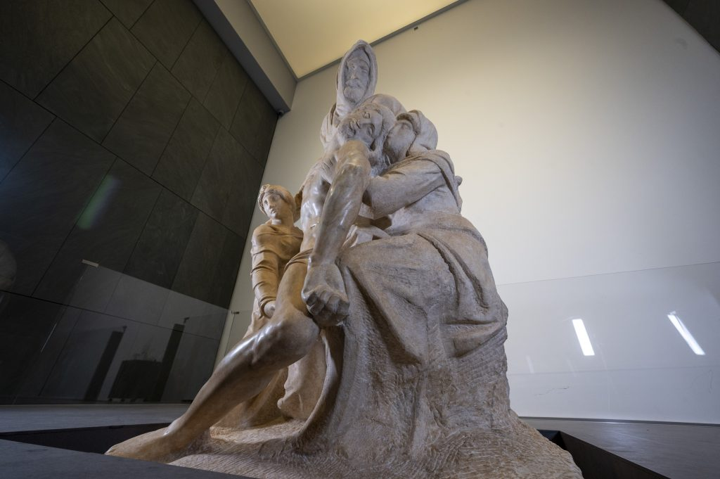 Michelangelo e il tormento del marmo. Concluso il restauro della Pietà Bandini