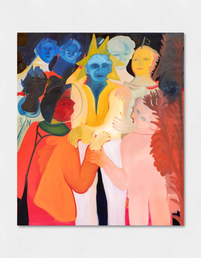Femminelli, Oil on canvas, 130 x 150 cm,2020