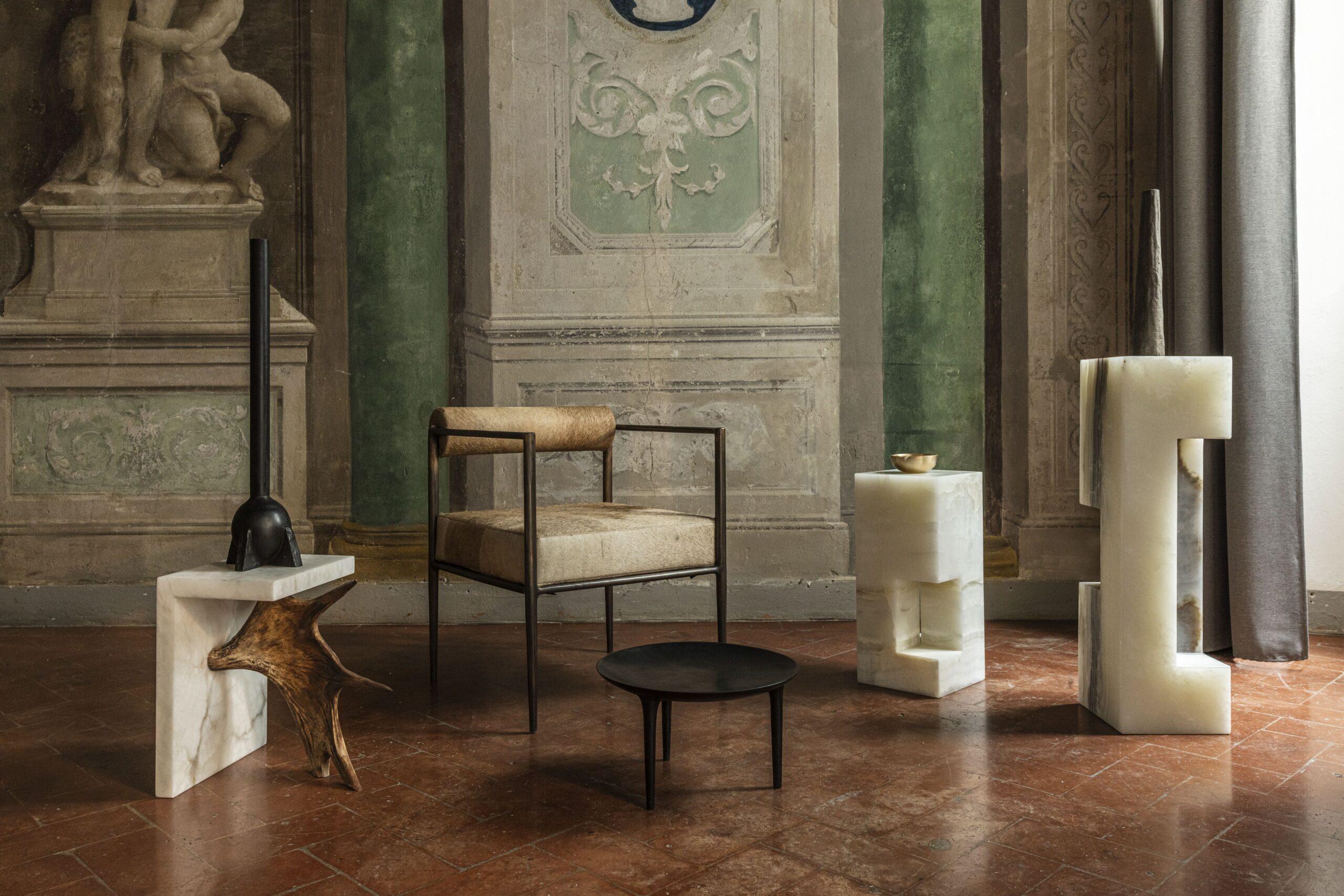 Le sculture dello stilista e designer californiano Rick Owens tra Milano e Firenze