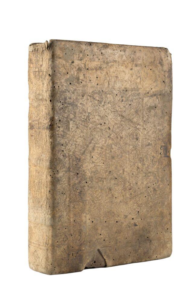 Lotto 100_THOMAS A KEMPIS (c. 1380-1471) - Imitatio Christi. [Augusta:]: Günther Zainer, [prima del 5 giugno 1473, ma da studi recenti non dopo il 1472]. Grazie a una nota di possesso presente nella copia di Monaco, si pensava la raccolta fosse stata stampata prima del 1473, ma più recenti studi hanno rinvenuto una nota di possesso del 1472 presente in una copia in collezione privata (Roland Folter, USA). Stima € 40.000 - 60.000