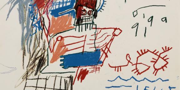 Poedi di Jean-Michel Basquiat ($500-700 mila)