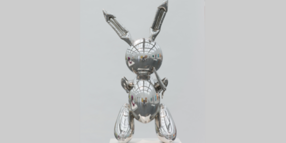Jeff Koons, Rabbit, in mostra a Palazzo Strozzi