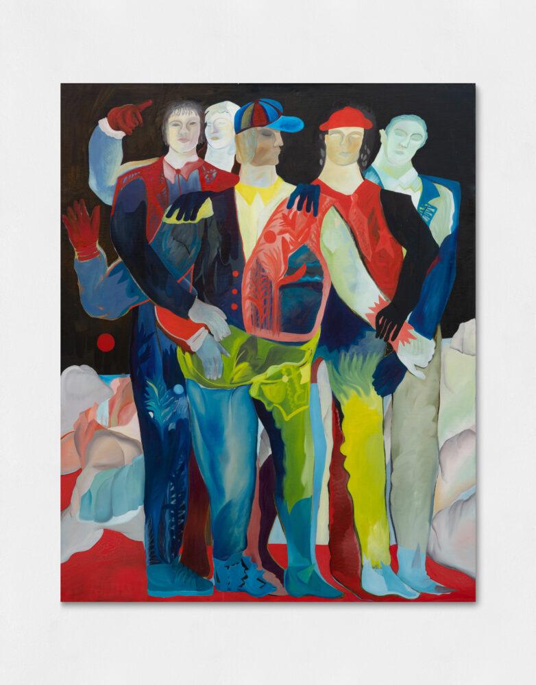 La Banda III, Oil on canvas, 200 x 250 cm,2019 crediti Sebastiano Pellion di Persano