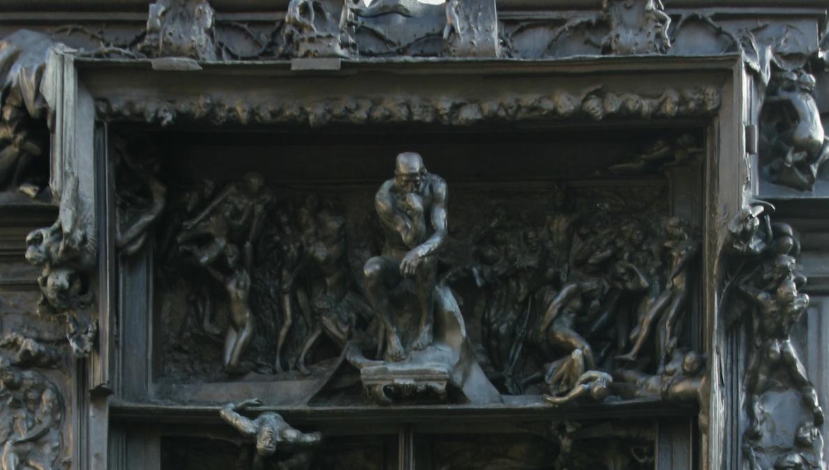 Inferno. Nell'attesa della grande mostra a Roma, l'arrivo della straordinaria porta di Rodin