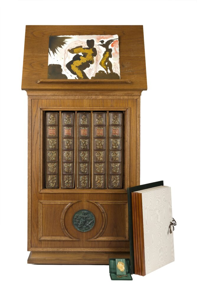 "Lotto 291 Salvador Dalì, ""Biblia Sacra vulgatae editionis"". Milano: Rizzoli, 1967 Venduto: € 56.250"