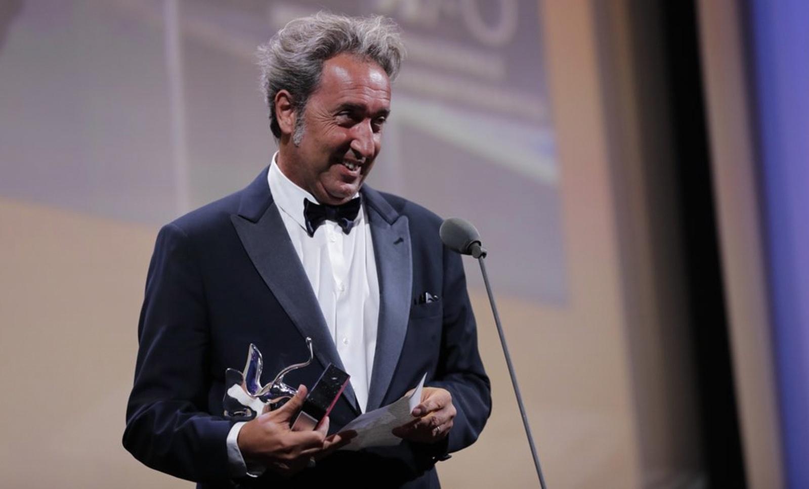 Mostra del Cinema. Leone d'Oro a Audrey Diwan, a Sorrentino il Gran Premio della Giuria