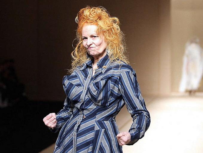 Vivienne Westwood, rivoluzionaria della moda ed eco-guerriera