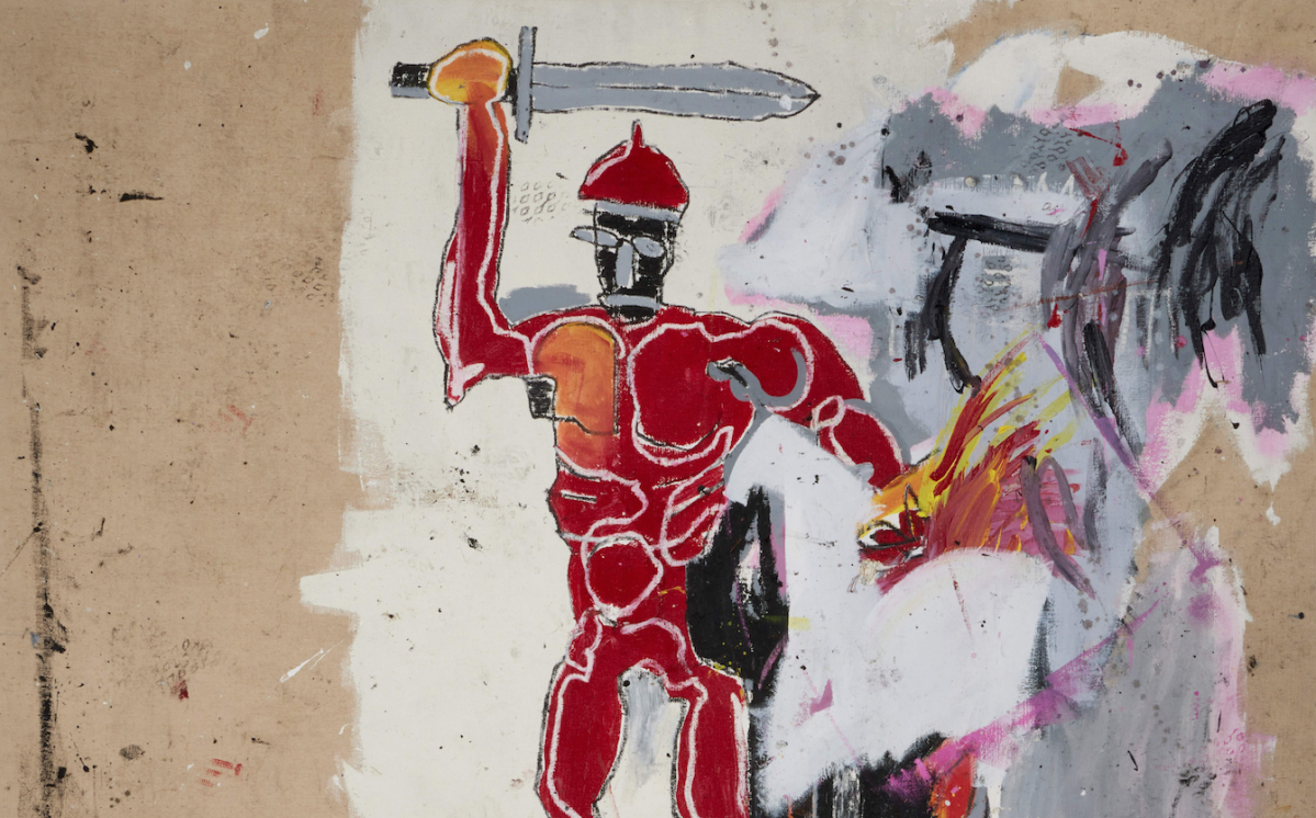 Ancora Jean-Michel Basquiat. Red Warrior è in asta da Sotheby's Hong Kong