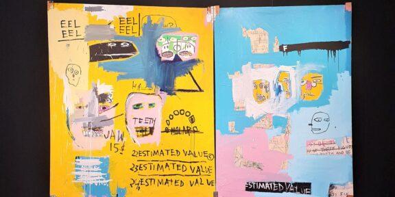 Jean-Michel Basquiat, Hardware Store (1983) da Van de Weghe