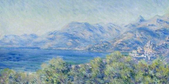 Claude Monet, Veduta di Ventimiglia