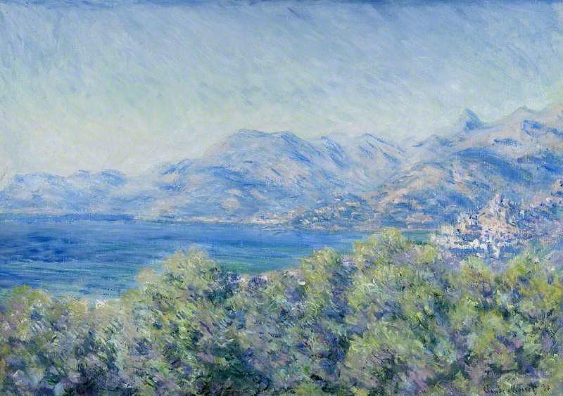 Il debito che la Riviera ligure deve alle opere di Claude Monet