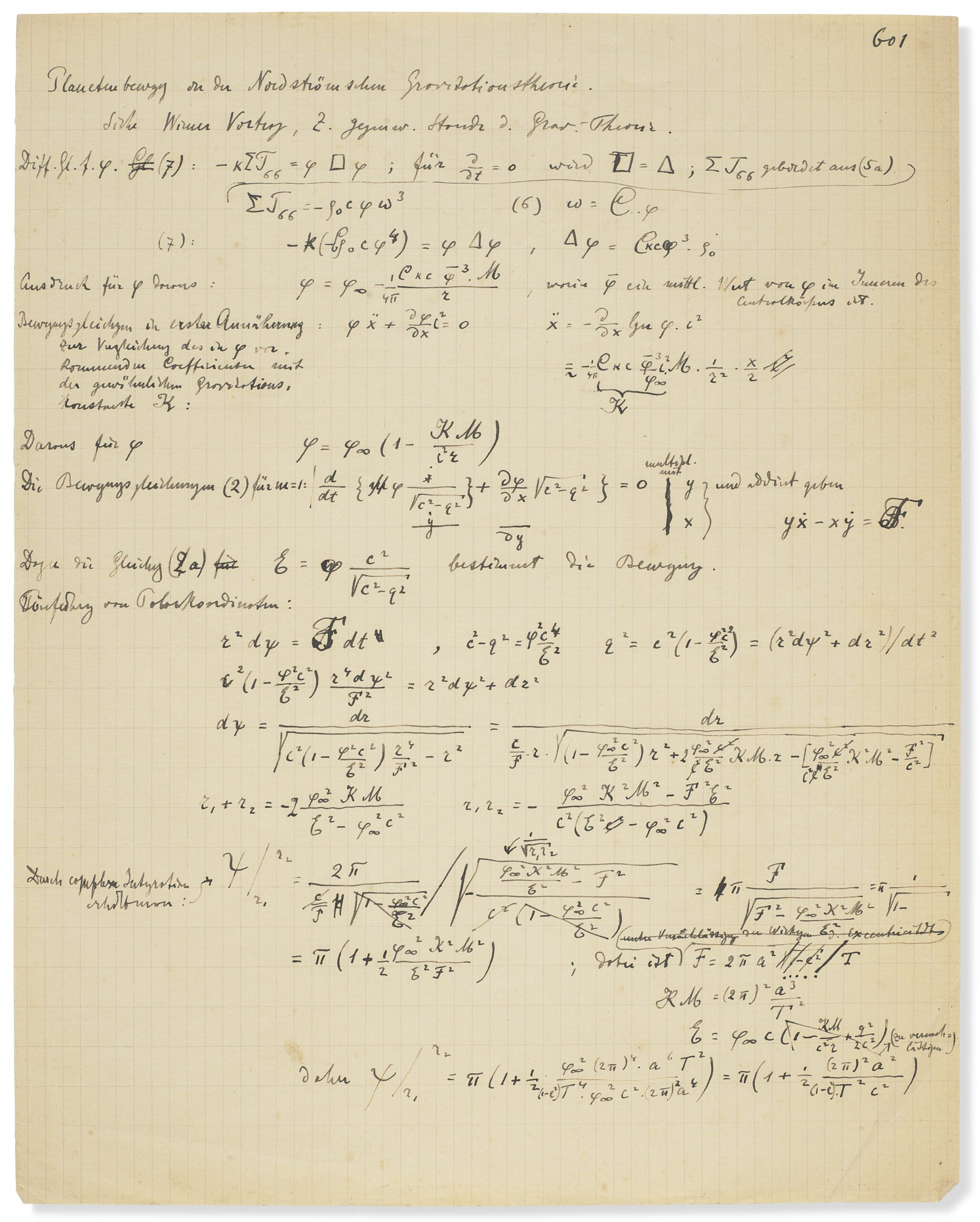Quando l'universo cambiò per sempre. Christie's presenta un rivoluzionario manoscritto di Einstein