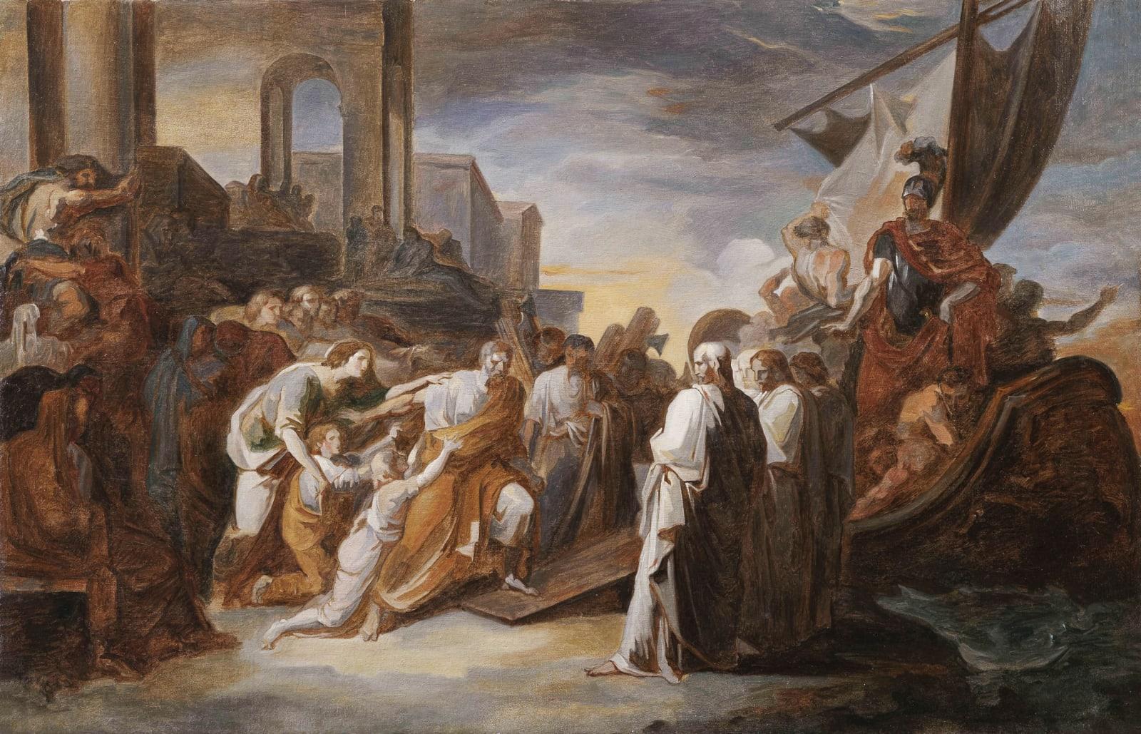 Tra Neoclassicismo e sentimento romantico. Le storia dei Camuccini in mostra a Roma e Parigi