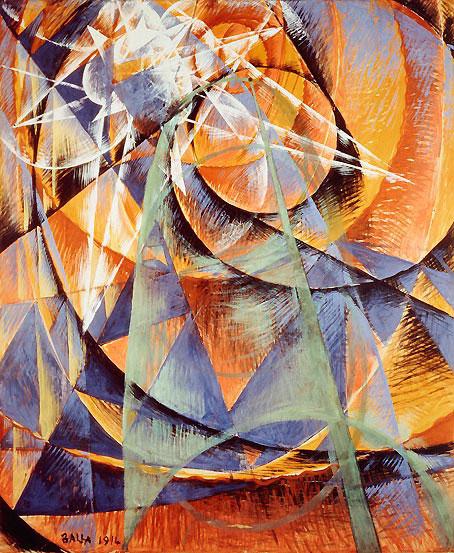Giacomo Balla, Mercurio passa davanti al sole