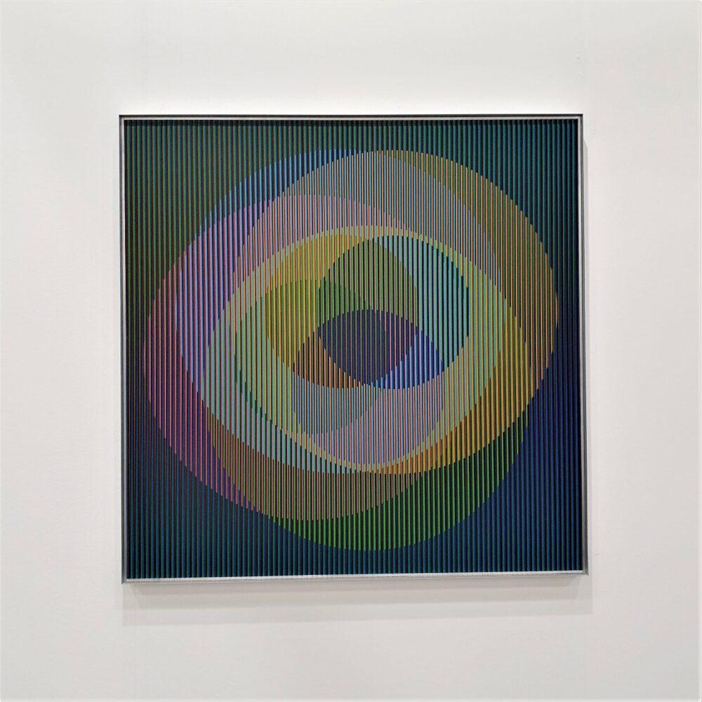 Fisiocromia di Carlos Cruz Diez del 2007 - Dep Art