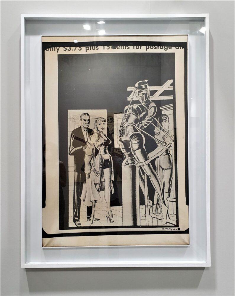 Terror di Mimmo Rotella, 1968, da Frittelli