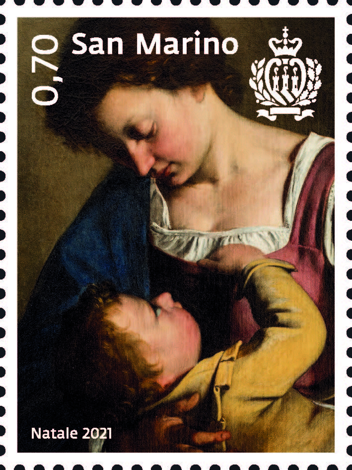 A San Marino è già aria di Natale. I bellissimi francobolli (con dipinti) in vendita