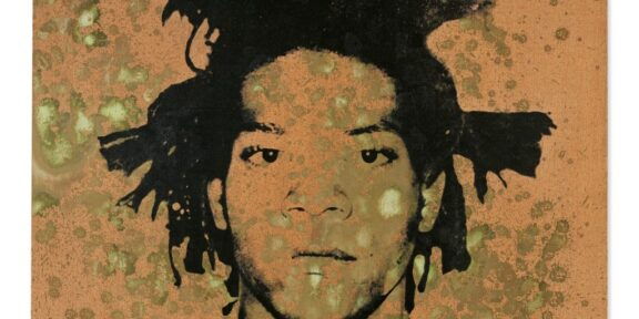 Andy Warhol, ritratto di Jean-Michel Basquiat