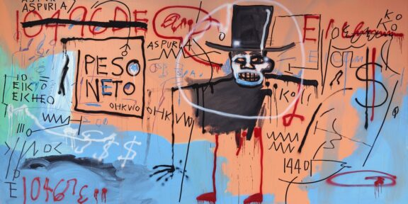Jean-Michel Basquiat, The Guilt of Golden Teeth, 1982.