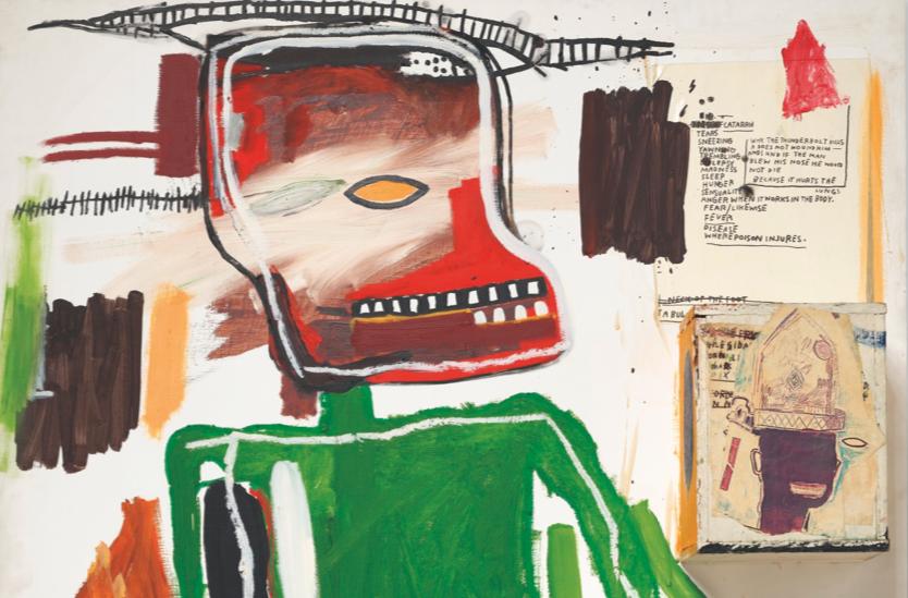 Because it Hurts the Lungs. L'impronta di Leonardo nell'ultimo quadro di Basquiat in asta da Christie's