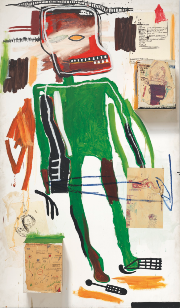Jean-Michel Basquiat, Because it Hurts the Lungs