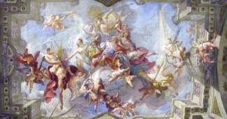 Strappi: un evento eccezionale. Il ciclo di affreschi di Carlo Innocenzo Carloni aperto al pubblico. A Palazzo Grassi
