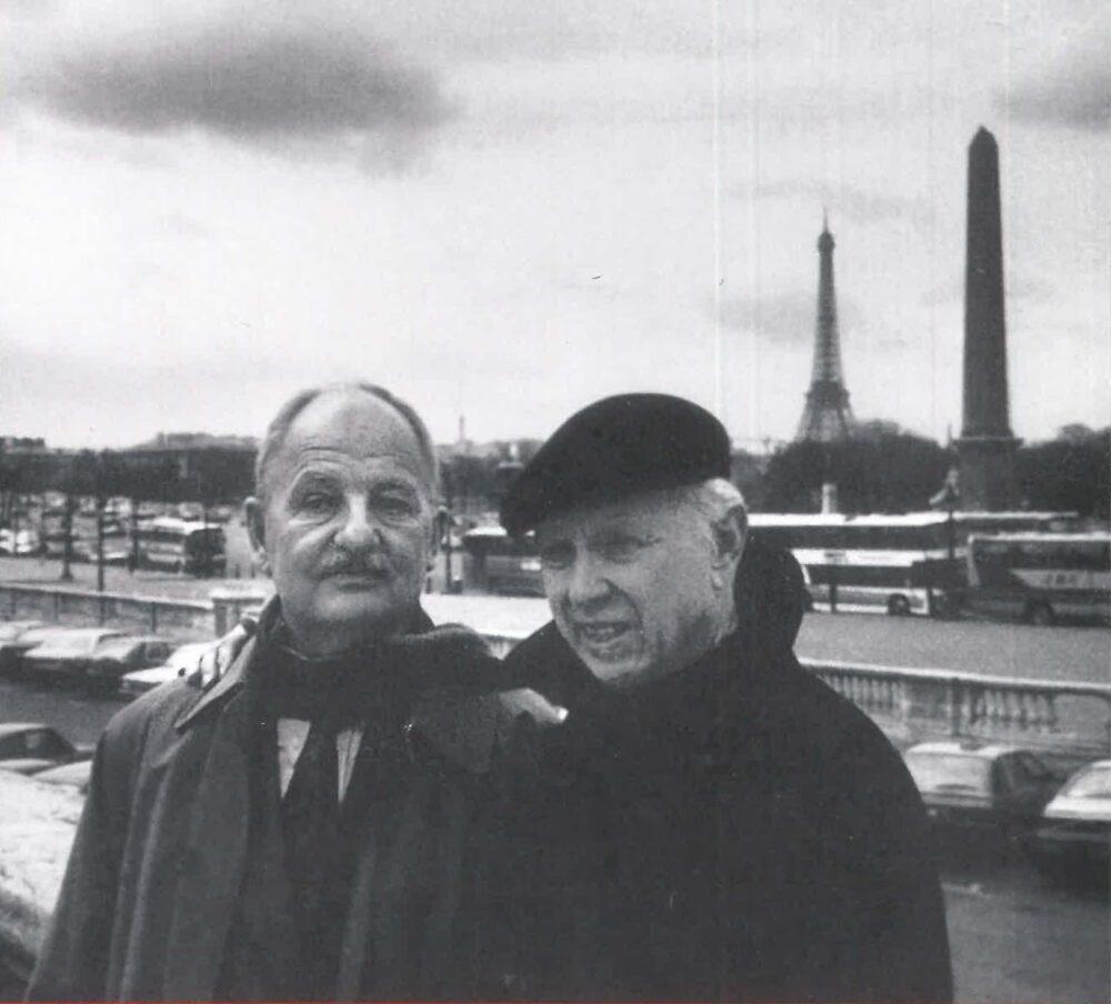 Douglas Cramer e Ellsworth Kelly, Paris, 1994 © Jack Shear, New York