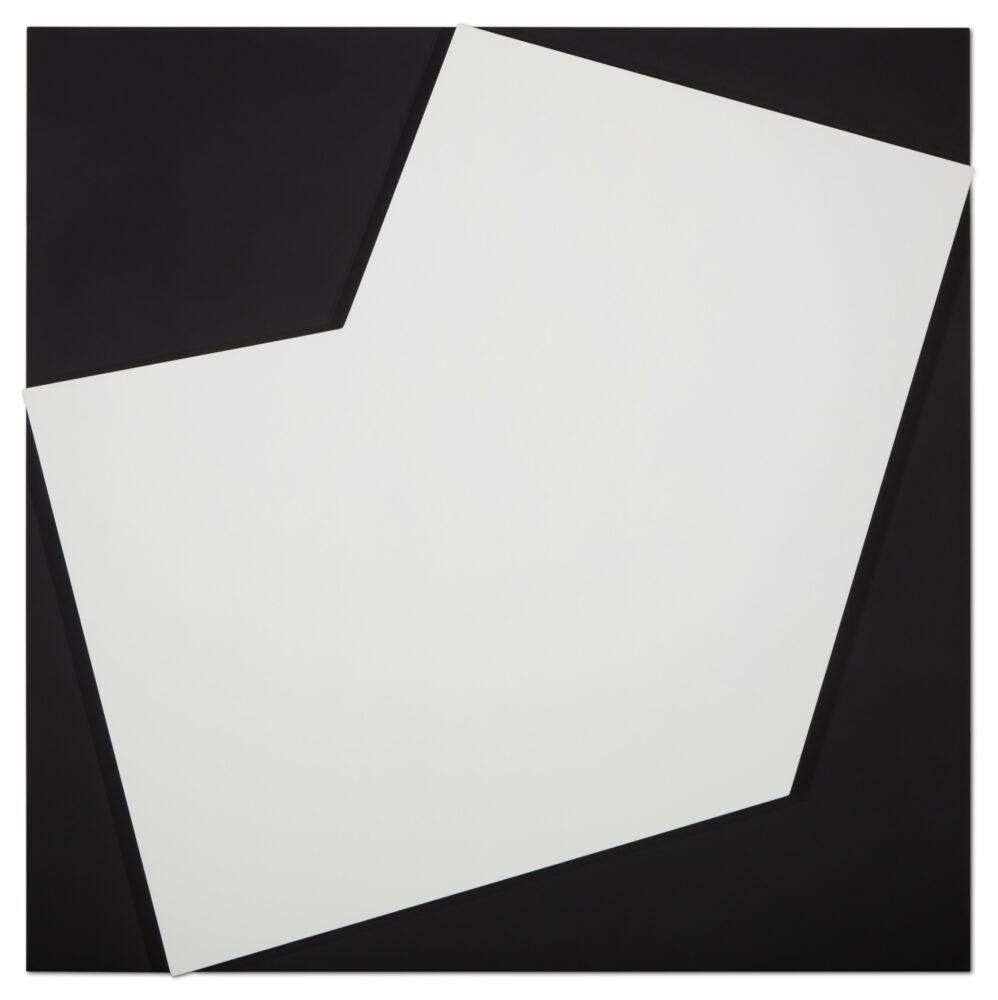 Ellsworth Kelly, White Relief Over Black, 2012