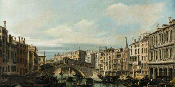 Bernardo Bellotto, Ponte di Rialto