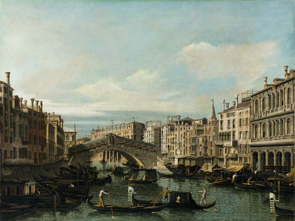 Il collezionista Ernesto Trivoli apre una galleria a Milano con una mostra sul vedutismo veneziano