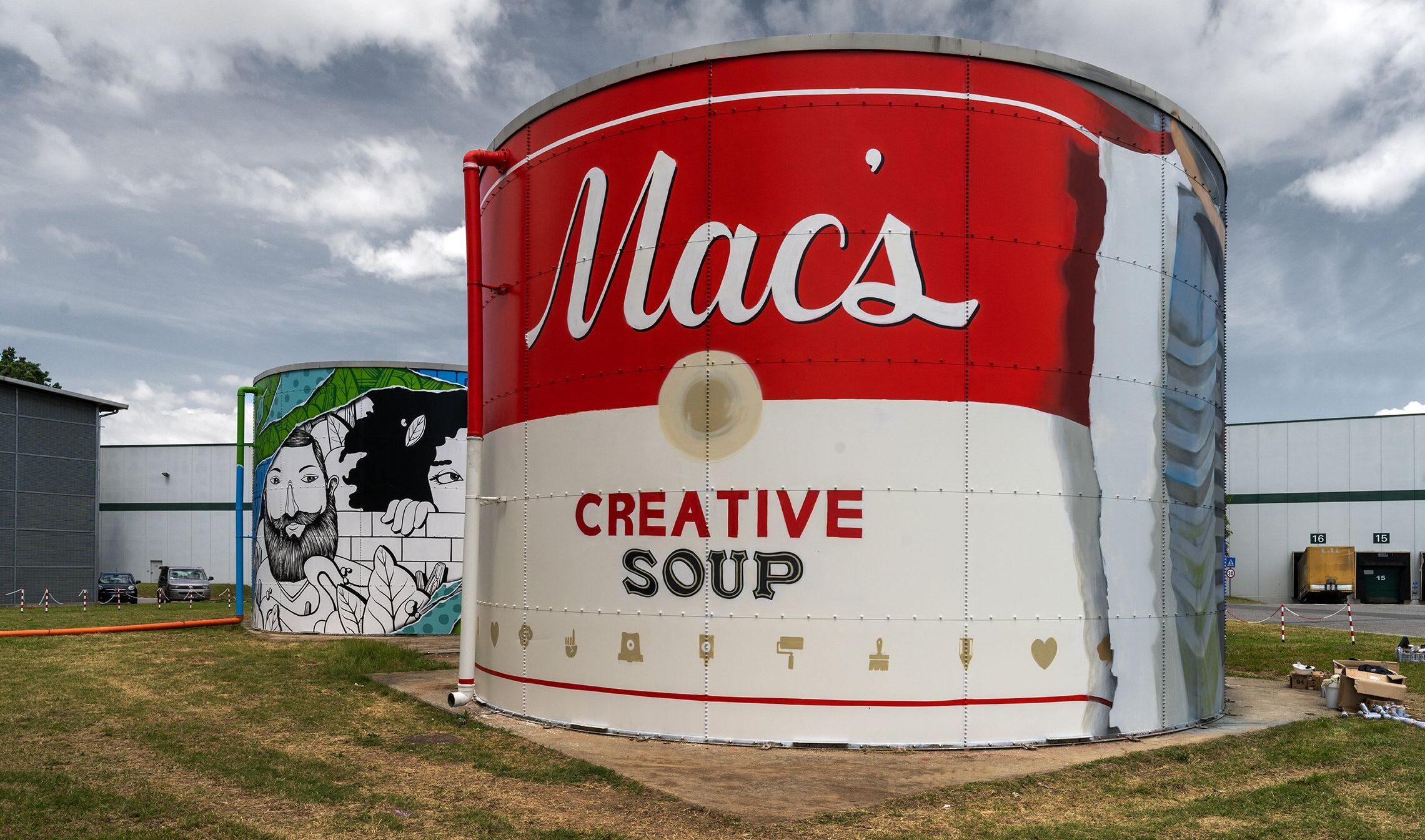 Un museo a cielo aperto: le mastodontiche opere d'arte urbana del Prologis Park a Lodi