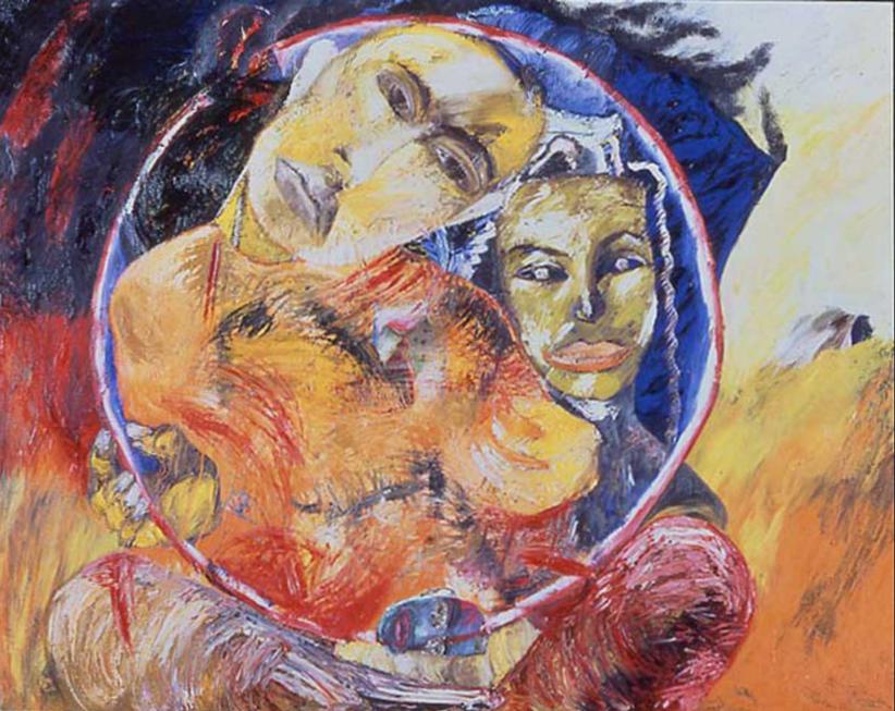 Francesco Clemente, Il cerchio di Milarepa