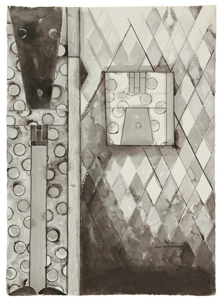 Jasper Johns, Bushbaby, 2005