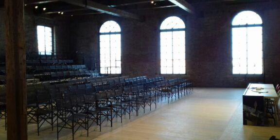La Sala D'Armi A dell'Arsenale, alla Biennale