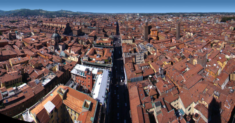 La Via Emilia a Bologna